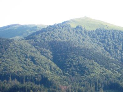 У підніжжі гір